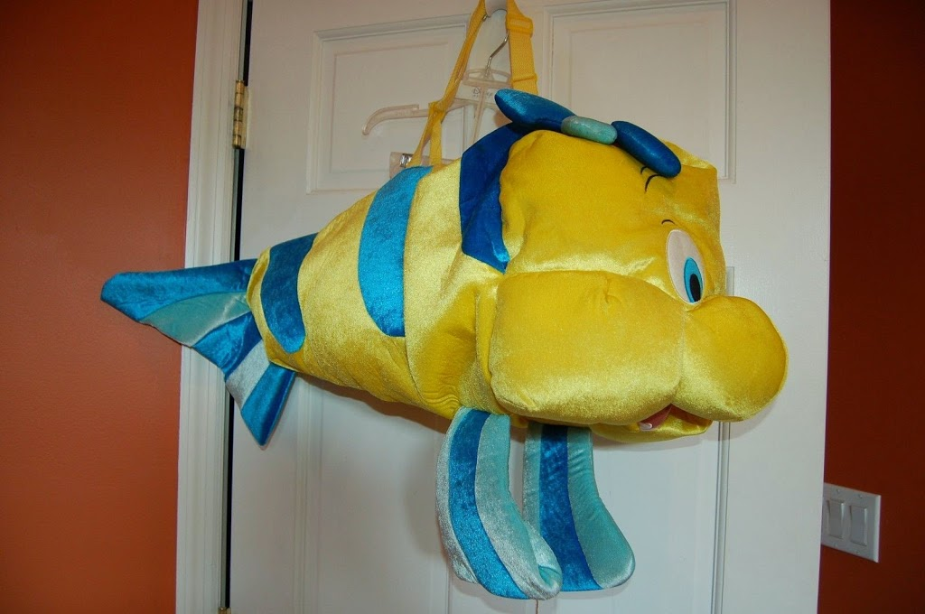 & BOLO: Flounder Costume (The Little Mermaid)