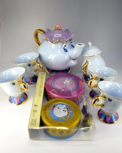 mrs potts tea set