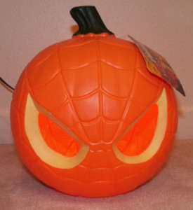 spiderman jack o lantern