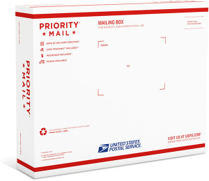 priority mail box