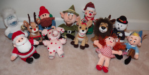 rudolph cvs plush lot