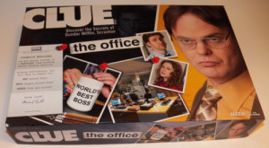 The Office clue