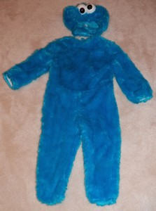 cookie moster costume